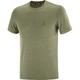 Salomon Explr Pique SS Tee Men, olive night/heather
